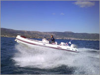 rent a exclusive speed boat - BWA Platinum SixFifty with Honda 150VTEC HP