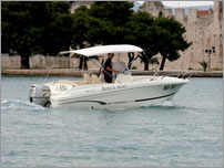 rent a exclusive speed boat - Jeanneau Cap Camarat 635 with Honda 150 HP