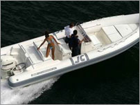rent a exclusive speed boat - JOKER BOAT Clubman 26 with Honda 225 HP Advanced
