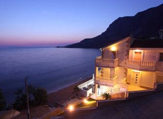 Beach Luxury Villa on Makarska Riviera in Dalmatia in Croatia