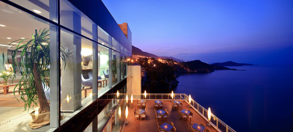 Luxury and exclusive boutique hotel Bellevue in Dubrovnik Croatia