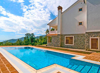 Villa with swimming pool above Ičići - Opatija region