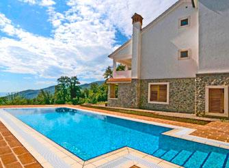 Villa with swimming pool above Ičići - Opatija region