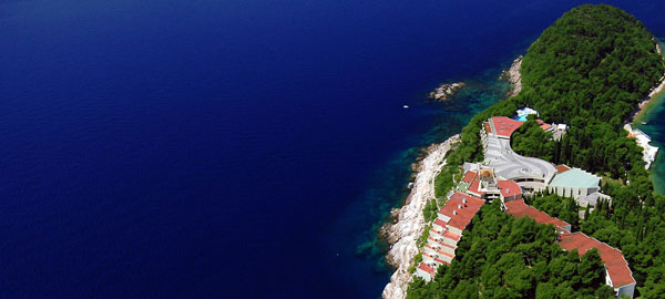 Luxury five stars hotel Croatia in Cavtat in Dubrovnik area