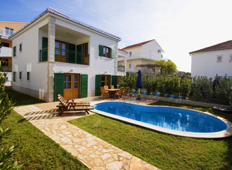 Private holiday villa with pool in Hvar town
