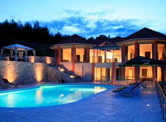 Luxury Seafront Villa on Island Korcula