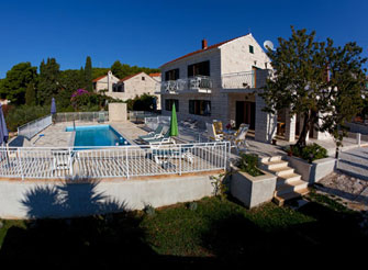 Dalmatian Stone House Villa in Sumartin, Brač Island