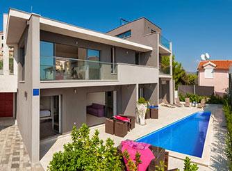 Tastefully designed luxury villa in Rogoznica in Dalmatia