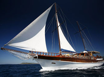 Luxury crewed gulet - yacht for charter