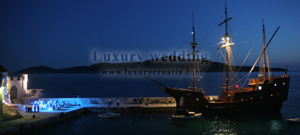 Luxury wedding in Croatia