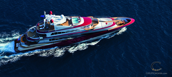 Luxury & Exclusive Mega Yacht for Charter in Croatia