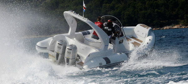 Rent a Luxury RIB with skipper in Split Region