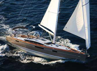 Jeanneau 57 - a luxury sailing yacht