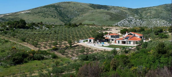 Luxury villa with view on the Kastela Bay