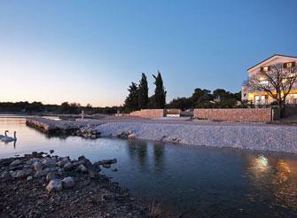 Luxury beach villa near Pirovac in Šibenik region