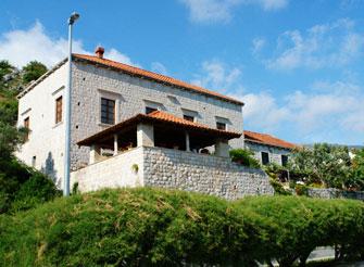16th Century villa on Dubrovnik River shore