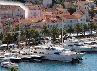 Luxury villa with pool in Hvar Town in Dalmatia