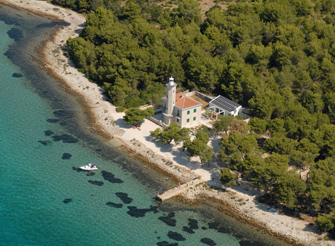 Exclusive lighthouse villa on the island Vir in Zadar region