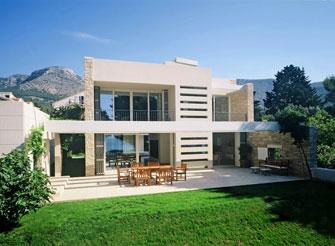 Luxury seafront villa in Bol on the island Brac