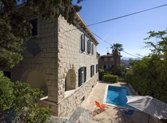 Exclusive vintage villa with swimming pool in Split city center