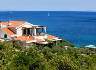 Luxury Seafront Villa on the island Vis