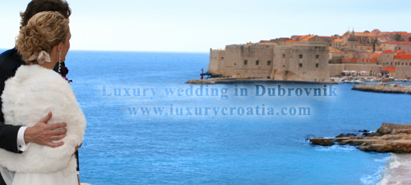 Luxury Wedding Dubrovnik - first step for unforgettable wedding in Dubrovnik