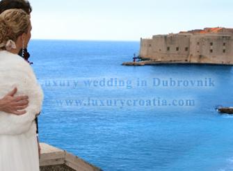 Luxury Wedding in Dubrovnik