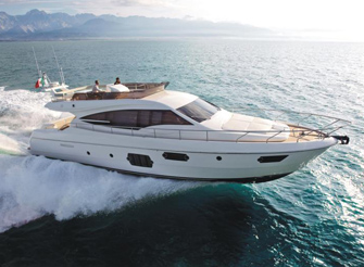 NEW BUILD Ferretti 620 - Luxury Yacht for Charter in Dubrovnik Croatia