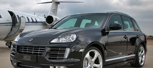 The Porsche Cayenne a Luxury Car for Rent in Dubrovnik Croatia