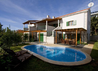 Charming 4 bedroom rental villa in Hvar in Dalmatia