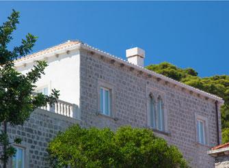 Seaside residence villa on Lopud Island