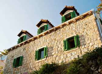Traditional Stone House in Dubrovnik