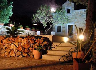 Dalmatian stone house in Supetar on Brac island