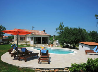 Beautiful villa with pool in Istria
