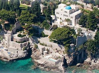 High end waterfront luxury villa in Dubrovnik