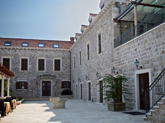 small luxury historical boutique villa hotel in dubrovnik