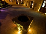 Outside the Small Luxury Boutique Hotel in Dubrovnik by night