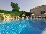 Pool area in the Small Luxury Boutique Hotel in Dubrovnik