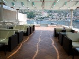 Hotel Terrace in the Small Luxury Boutique Hotel in Dubrovnik