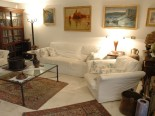 Living Room of the Small Boutique Hotel Villa Tuttorotto in Rovinj in Istria