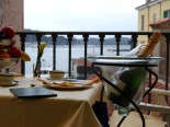 Terrace in Small Boutique Hotel Villa Tuttorotto in Rovinj in Istria
