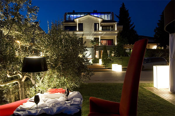 Luxury exclusive croatia accommodation best finest for Boutique hotel croatie