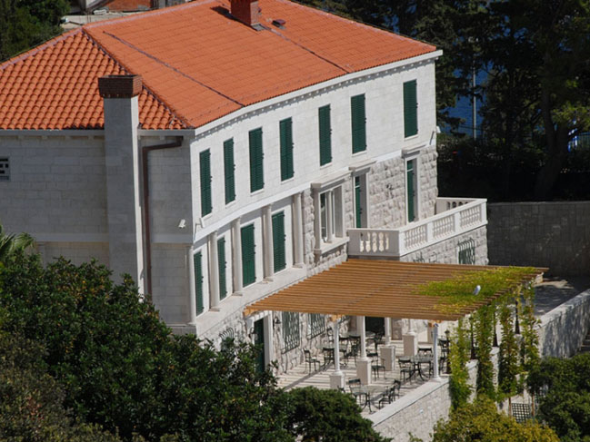 high end luxury villa in dubrovnik in croatia