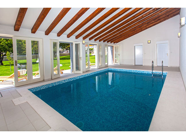 Indoor pool villa  Vintage villa with swimming pool in Sinj - hinterland of Split ...