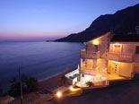 Luxury beach villa with pool on Makarska riviera in Dalmatia Croatia