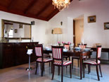 Dining room in luxury villa in Dubrovnik