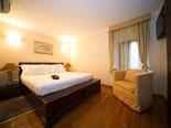 Bedroom in this luxury rental villa in Dubrovnik