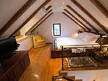 Third bedroom in this Dubrovnik summer residence villa