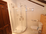Bathroom on 2nd floor in five star villa in Dubrovnik with pool