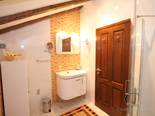 Bathroom on 2nd floor - other view - in five star villa in Dubrovnik with pool